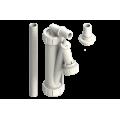 Sifone verticale e orizzontale - Plasti One