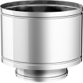 CAPE d.p. finitura acciaio inox