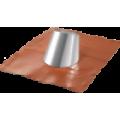 Faldale con base in gomma per tetti inclinati da 5° a 32°