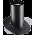 RASO l Raccordo telescopico a soffitto orientabile 0° - 30° legna